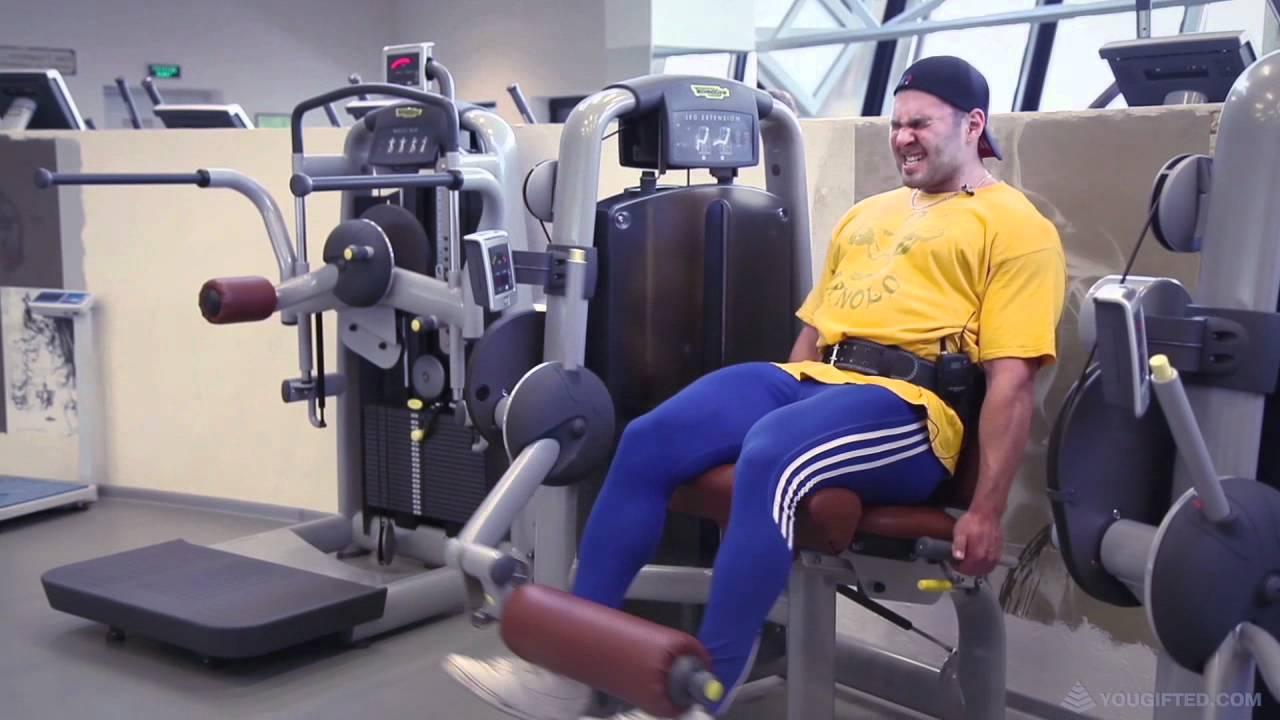 Алексей Жерихов. Тренировка ног.