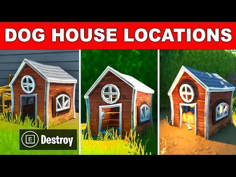 DESTROY DOG HOUSES – ALL 3 LOCATIONS MEOWSCLES' MISCHIEF CHALLENGES FORTNITE SEASON 2