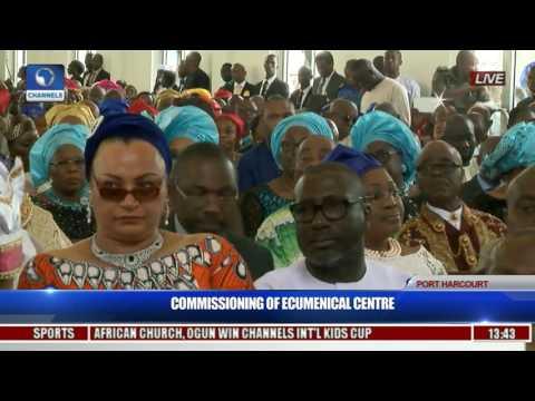 Commissioning Of Ecumenical Center Pt. 3
