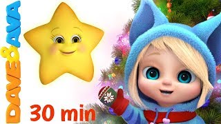 🎆Christmas Songs for Kids: Twinkle Twinkle Little Star, SANTA, Jingle Bells and More Baby Rhymes 🎿