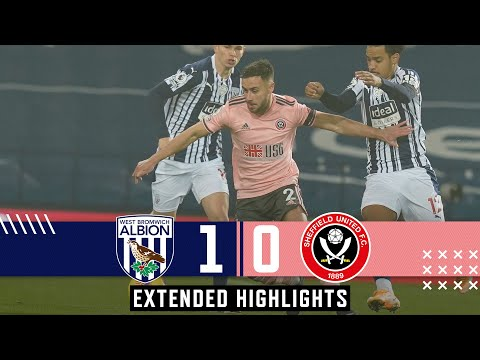 West Bromwich Albion 1-0 Sheffield United | Extended Premier League highlights