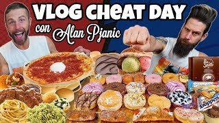 VLOG CHEAT DAY con ALAN PJANIC - 11000 Calorie Challenge - MAN VS FOOD