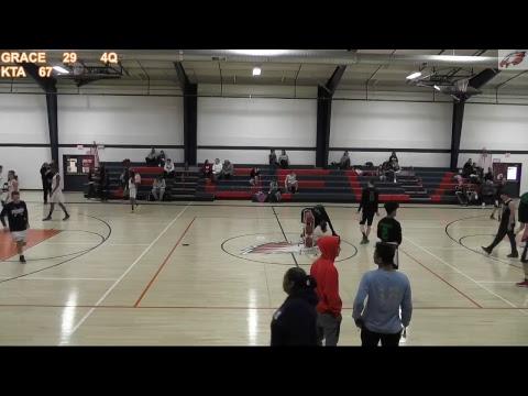FOFCA Basketball - Grace Christian Academy VS Kankakee Trinity Academy