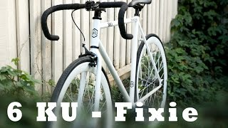 6KU Fixie Evian bike review - Unboxing and Assembly