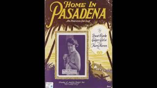 Home in Pasadena (1923)