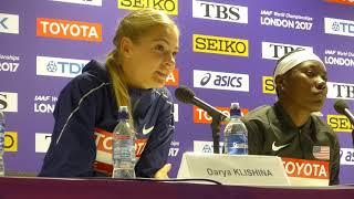 11/08/17 - Long Jump Press Conference - Darya Klishina (1080p HD)