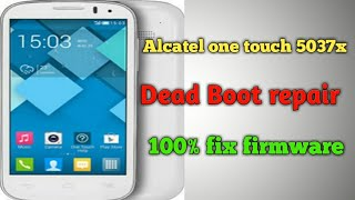 Alcatel dead boot repair via emmc