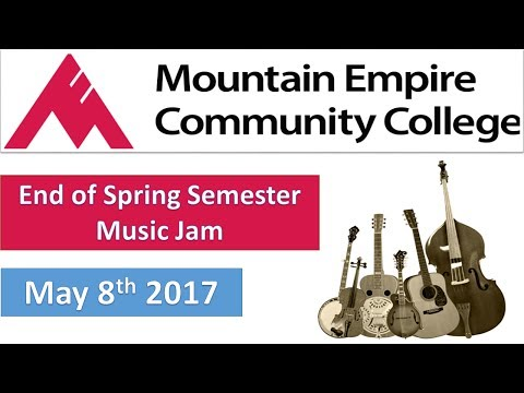 Mountain Empire Community College _ End of Spring Semester Music Jam