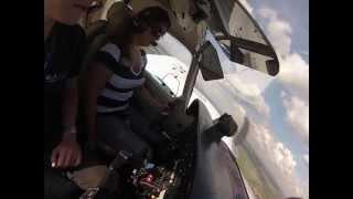 1° voo no Piper PA-34 Seneca III 12-06-13