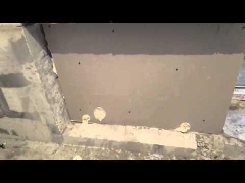 Утопили трубы и батарею  в стену из газобетона, нюансы.