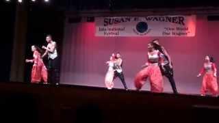 Susan E. Wagner High School International Festival 2015 - Indian Dance