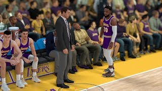 I FOULED OUT THE GAME! Lakers vs Nuggets NBA 2K19 MyCareer Ep 92