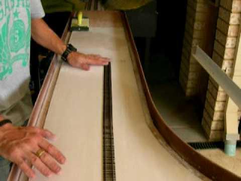 Plaster Leveling Part 3 (model railway baseboards)