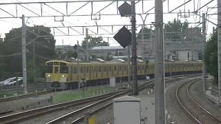 西武鉄道2455F+2057F 回送~各停拝島行 小平1番折り返し