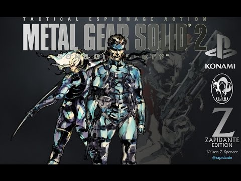 Metal Gear Solid 2 Sons of Liberty - Theatrical Trailer