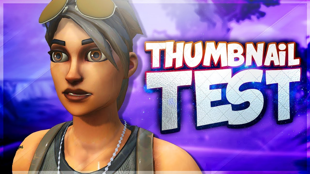 How To Make A Fortnite Thumbnail Photoshop Tutorial Youtube