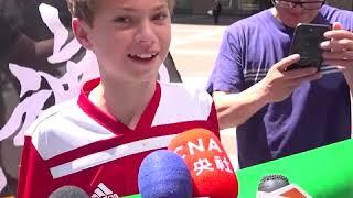 美国小男孩杰克:台湾从来不是中国的一部分