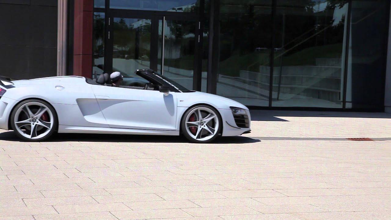 Audi R8 Gt Spyder Meets Lamborghini Lsd Doors For Audi