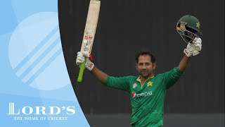 Sarfraz Ahmed's ODI century | Lord's - Your Home of Cricket