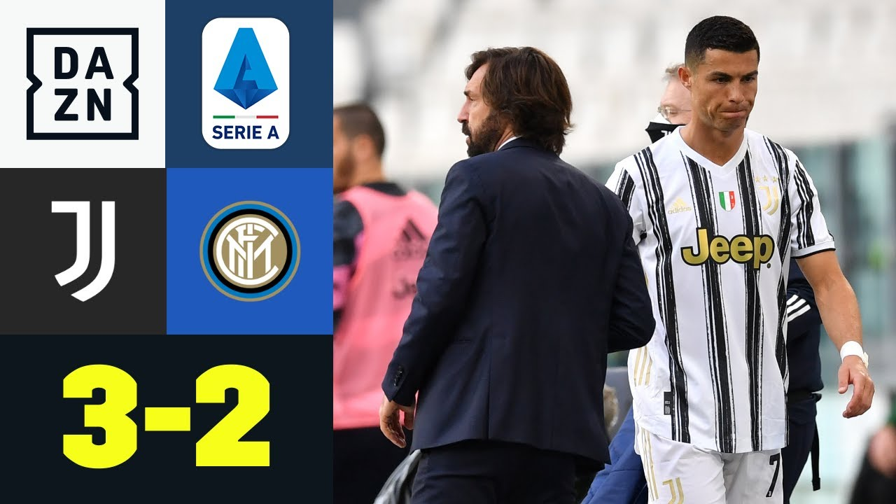 Download Doppelpack Cuadrado & Auswechslung Ronaldo: Juventus - Inter Mailand 3:2 | Serie A | DAZN Highlights