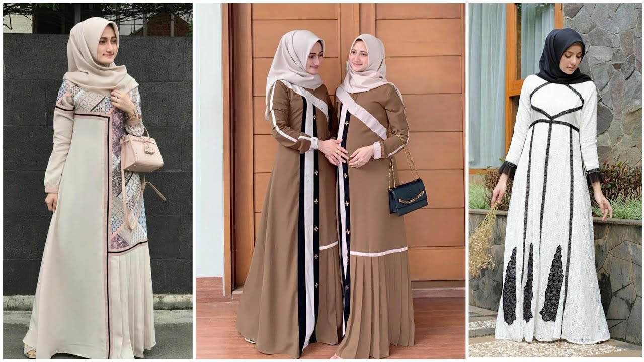 Review Lengkap Model Gamis Original Branded Terbaru Cocok Dipakai Lebaran Tahun Ini Youtube