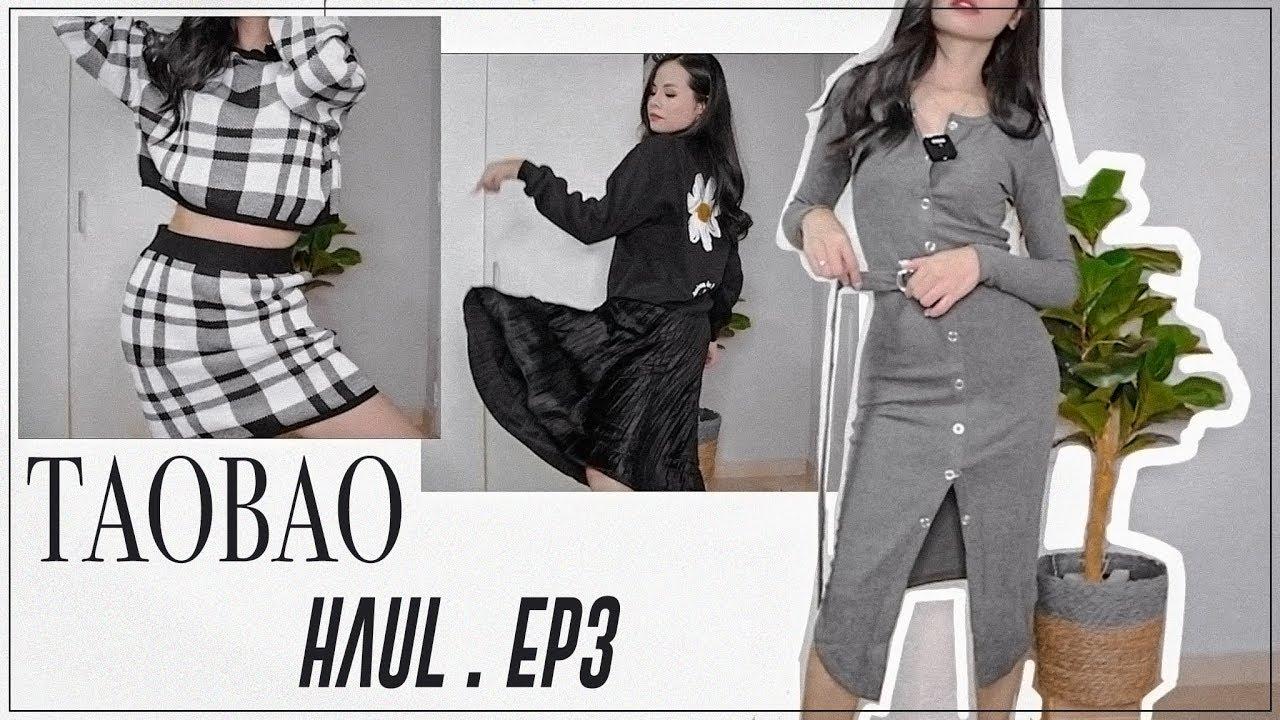 SHOPPING 7♡TRY ON TAOBAO HAUL EP3 ♡ Quần áo mùa đông giá rẻ ♡ Tuta.nguyen