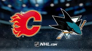 Flames defeat Sharks in shootout