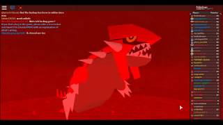 494. Battling Team Eclipse in Mt. Igneus & Waking up Groudon! PRP on Roblox Pt. 7
