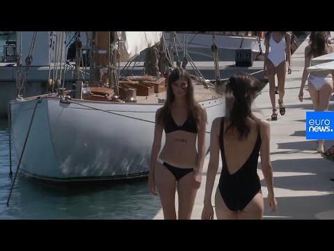 شاهد: أزياء مستدامة صديقة للبيئة لصناعة ملابس السباحة النسائية…  - 18:53-2019 / 7 / 12