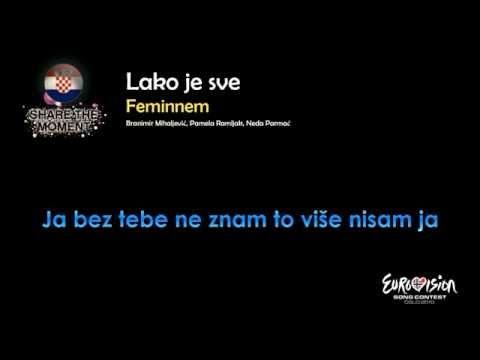 "Feminnem - ""Lako Je Sve"" (Croatia) - [Instrumental version]"