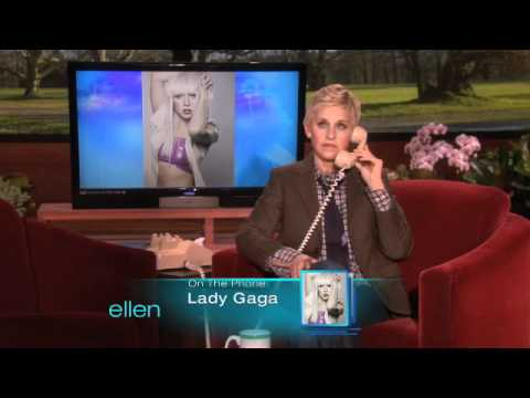 Ellen's Birthday Call to Lady Gaga