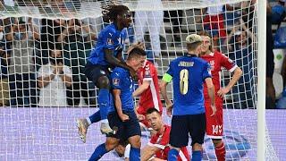 Italia-Lituania 5-0: i gol visti dalla Vivo Azzurro Cam