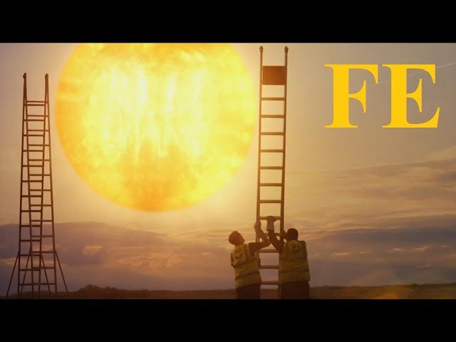 Flat Earth sun in 2018 AO commerical ✅