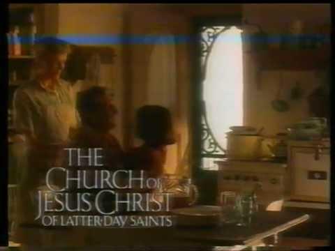 Church of Jesus Christ of Latter Day Saints TV ad