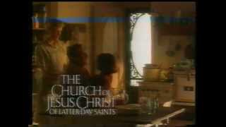 Church of Jesus Christ of Latter Day Saints TV ad