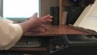 Basic Hand Posture on the Steno Machine