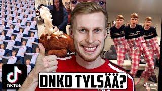 Tule katsomaan kanssani hassuja TikTok-videoita! :)