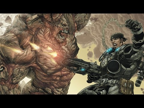 Gears of War Lore Episode 36 : Hollow Issue #6!!! / Escaping The Horde