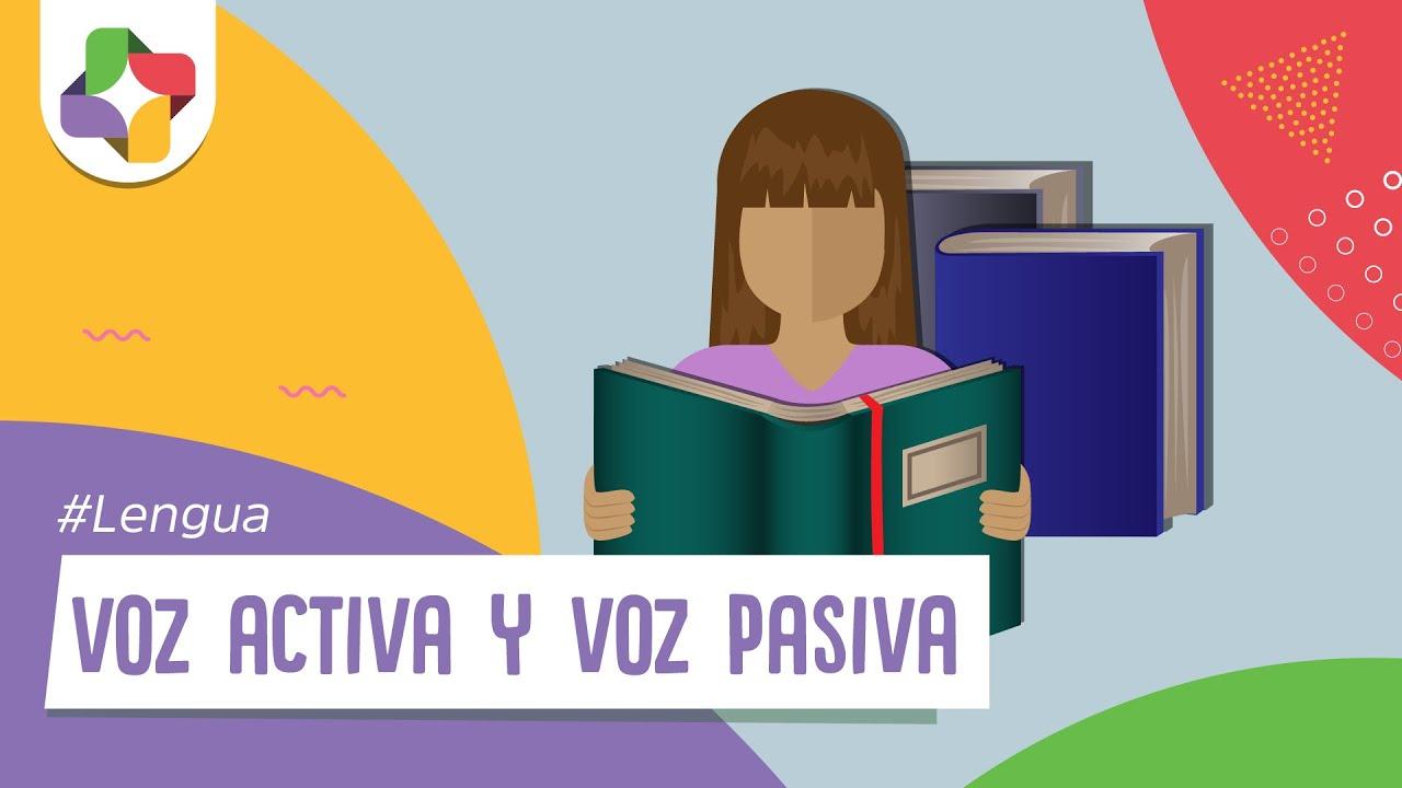 Voz Activa Y Voz Pasiva Lengua Educatina