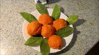 Салат Мандаринки для новогоднего стола