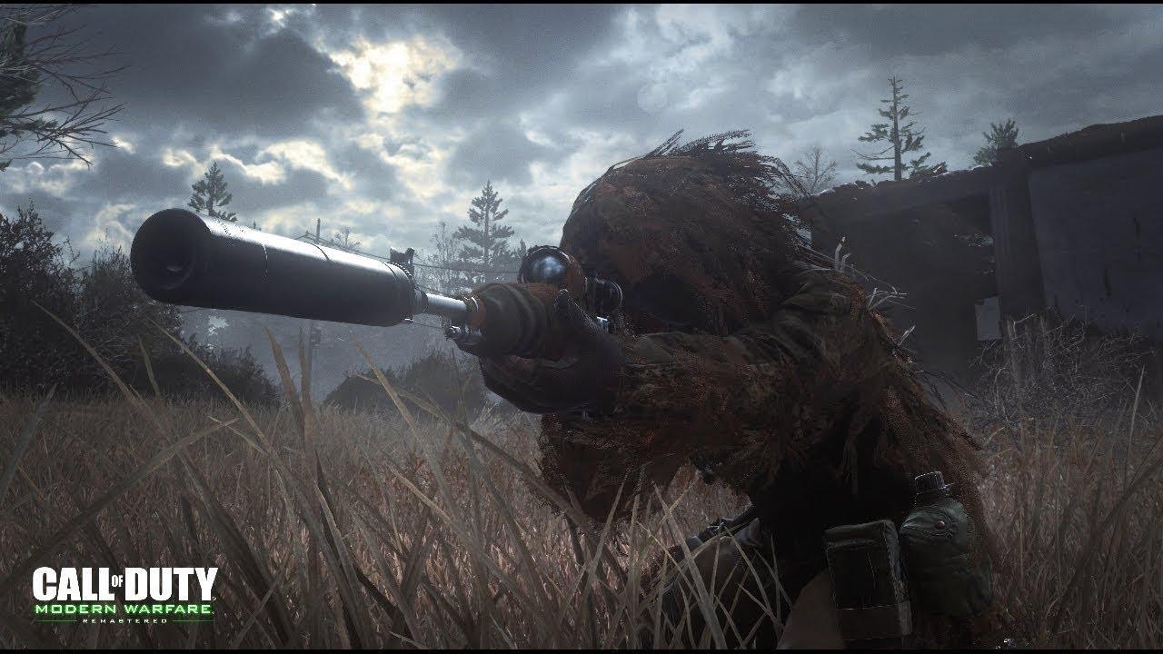 Captain MacMillan No Modern Warfare Remastered