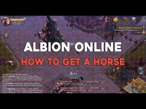 albion online how to get a horse albiononline. Black Bedroom Furniture Sets. Home Design Ideas