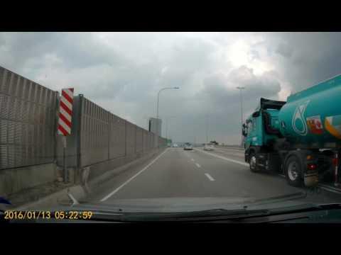 Petronas tanker cross double line