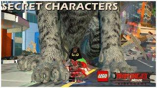 The LEGO Ninjago Movie Video Game - ALL SECRET CHARACTERS (Part 2) - NPC