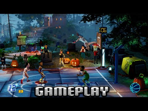 NBA2K Playgrounds 2, Paul George and Kyrie Irving vs Good Game Bro and Jon Barry, Switch |
