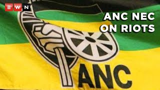 ANC deputy secretary-general Jessie Duarte held a briefing on the outcomes of the party's NEC meeting. She talked about the riots in Gauteng and KwaZulu-Natal and tweets from party members such as Duduzile Zuma-Sambudla, former President Jacob Zuma's daughter.  #ANCNEC #ZumaRiots