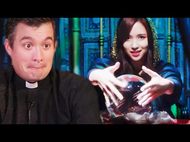 BRITISH PRIEST Reacts to YES or YES by TWICE