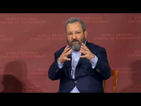 Ehud Barak on Israeli-Palestinian Conflict