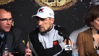 Sergey Kovalev After Fight Conference ( vs Jean Pascal )