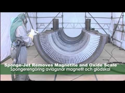 (Alstom) Turbine Cleaning In Turbine Hall